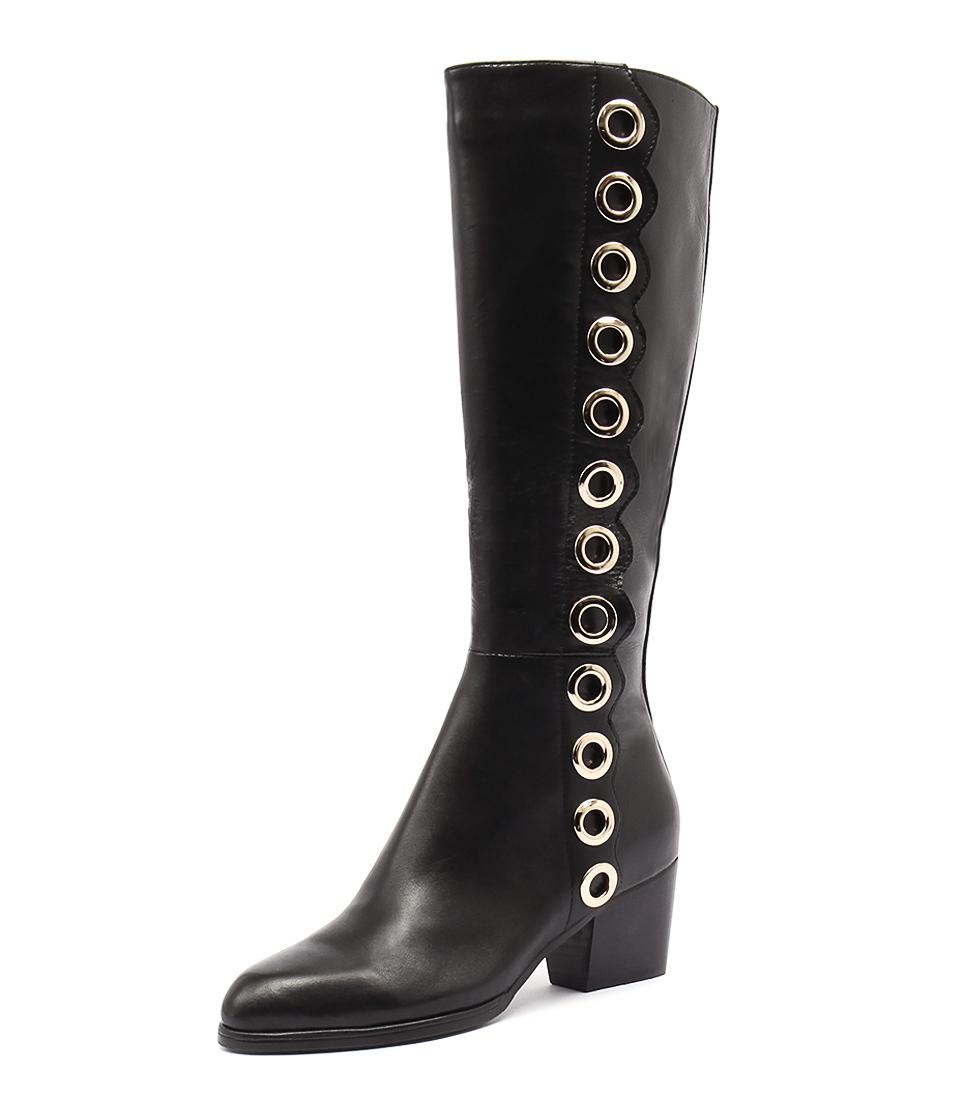 Django & Juliette River Black Boots