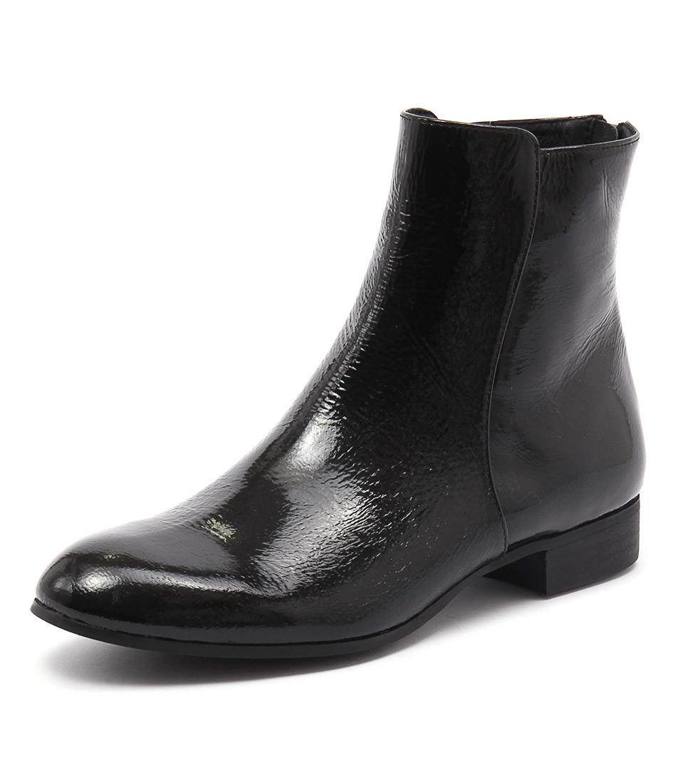 Django & Juliette Fabers Black Patent Boots online