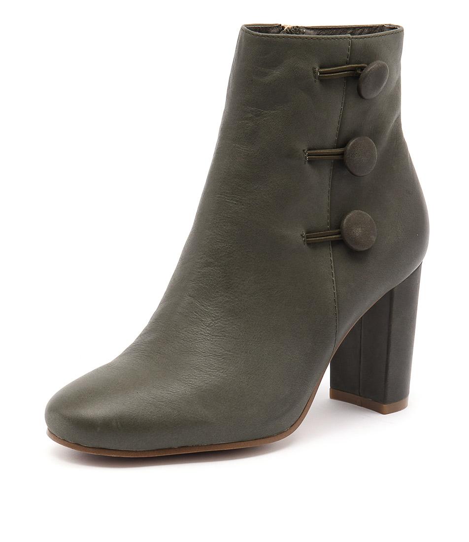 Django & Juliette Macapi Olive Boots online
