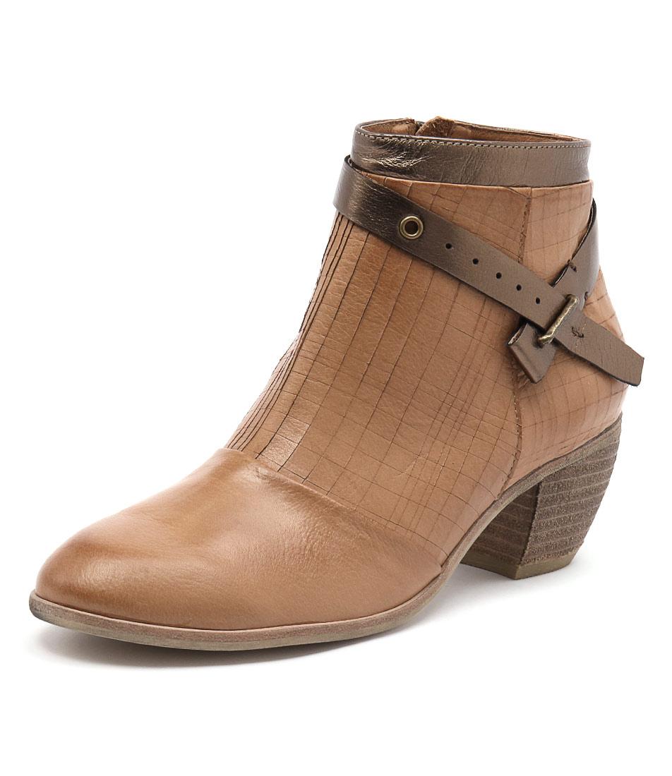 Django & Juliette Mersen Dark Tan-Bronze Boots online