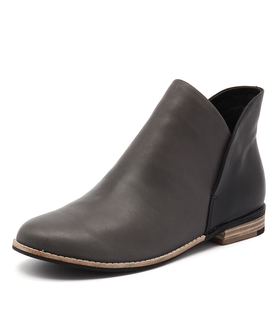 Django & Juliette Aframe Charcoal-Black Boots online