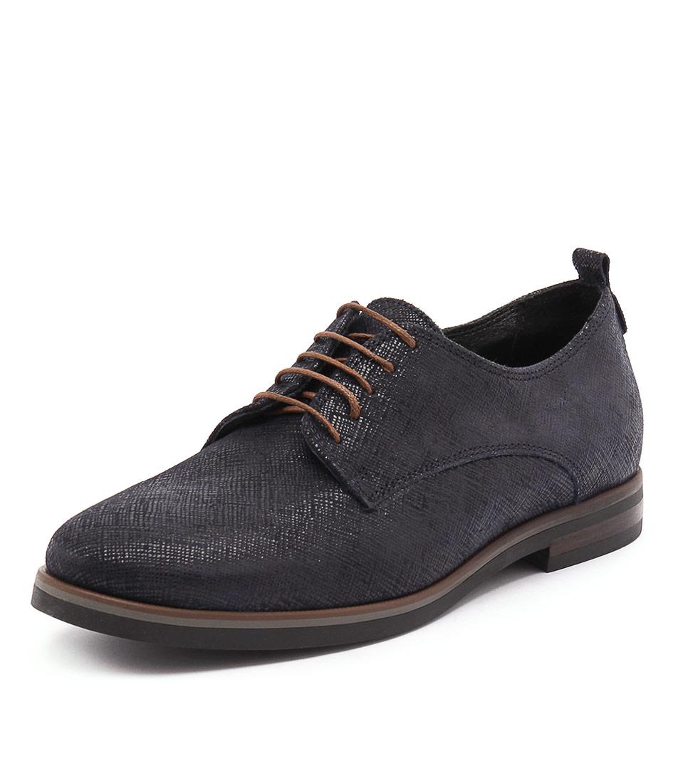Django & Juliette 54A 008 Navy Shoes