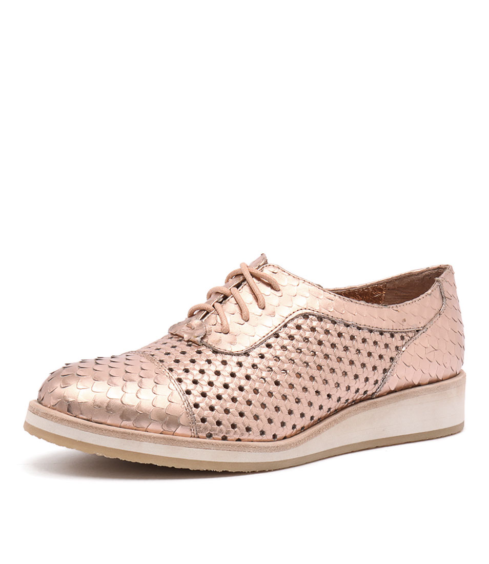 Django & Juliette Cedric Rose Gold Shoes