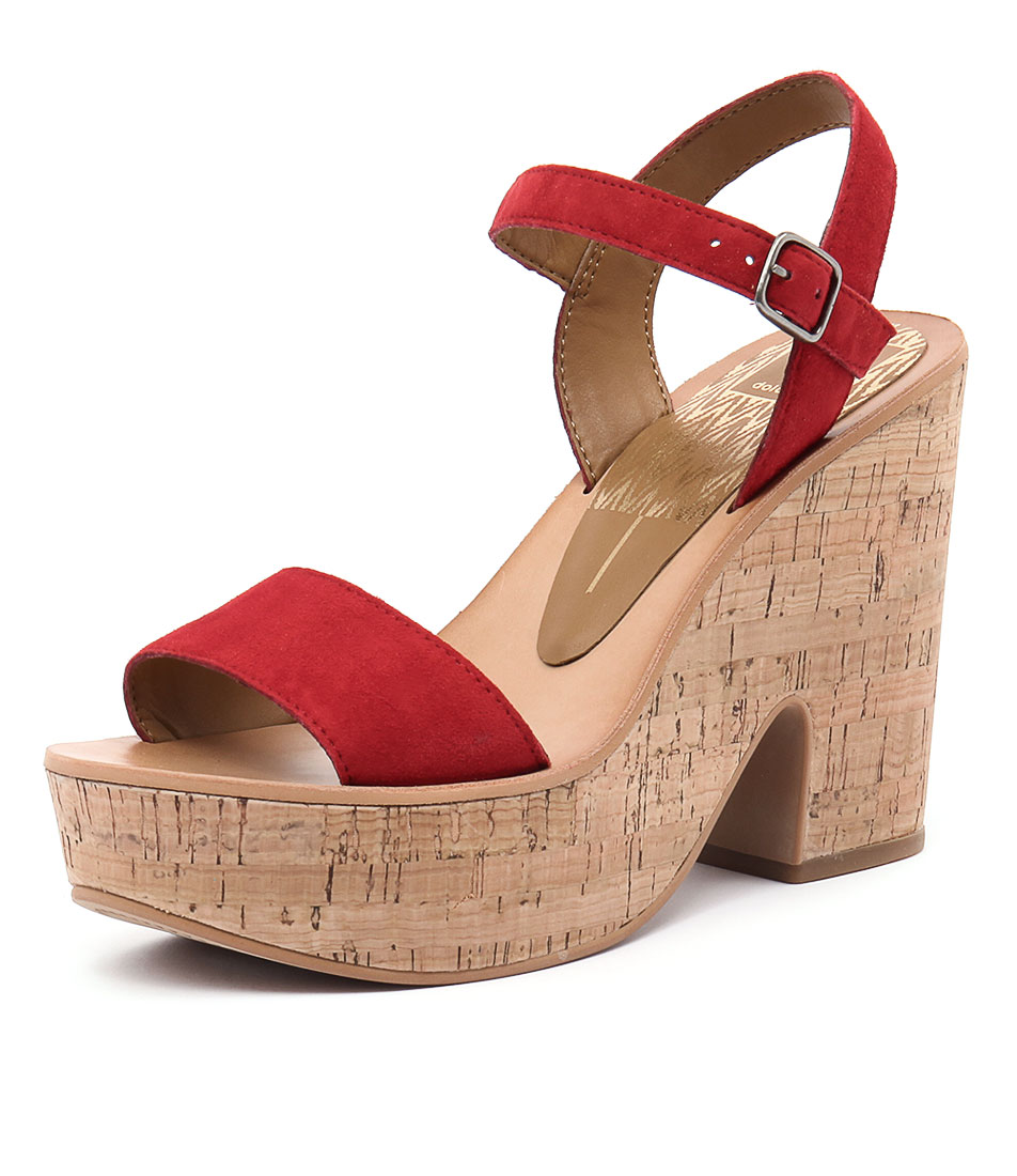 Dolce Vita Randi Red Sandals