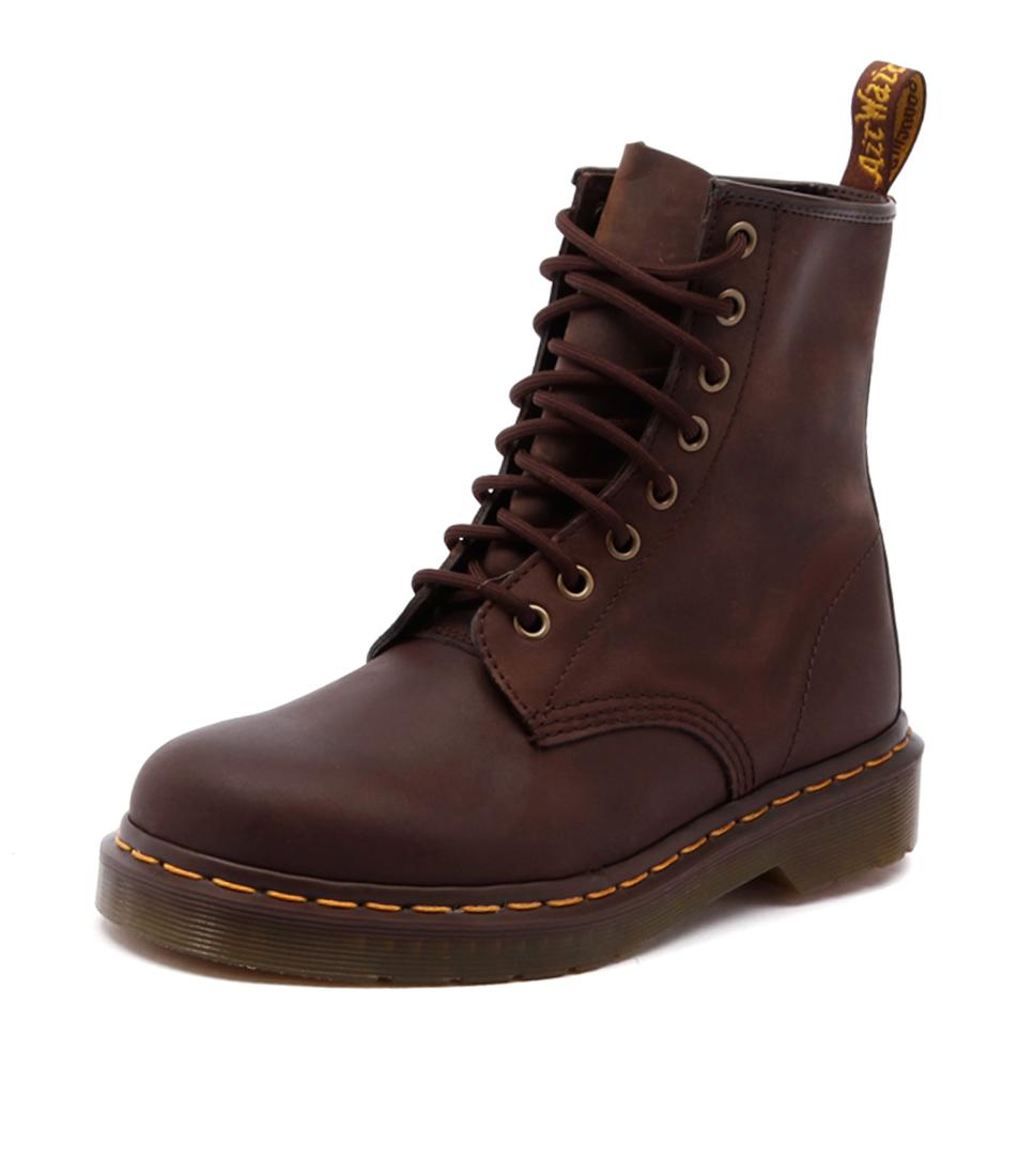 Dr. Martens 1460 8 Eye Boot Gaucho Crazy Horse Boots