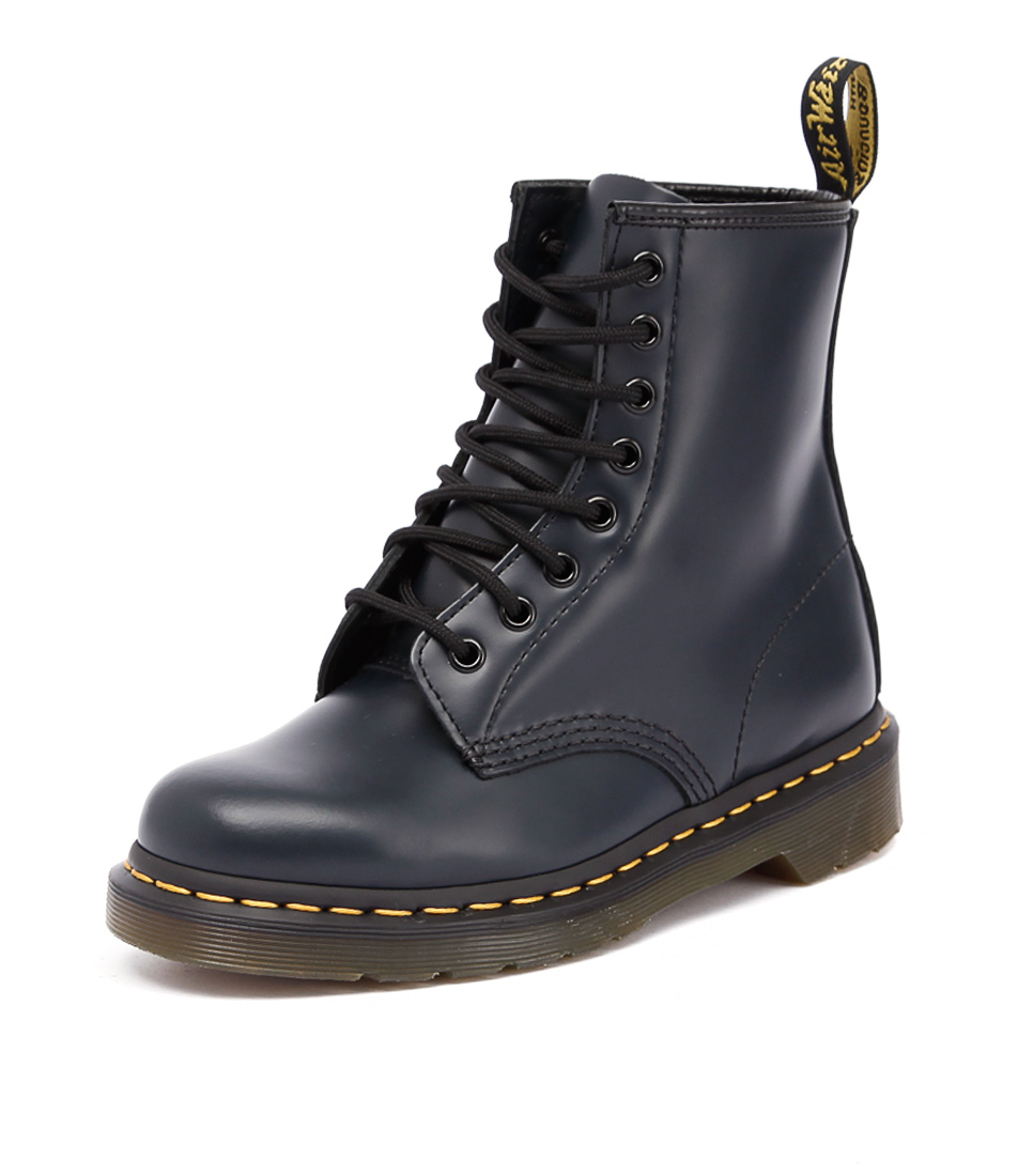 Dr. Martens 1460 8 Eye Classic Boot Navy Smooth Boots
