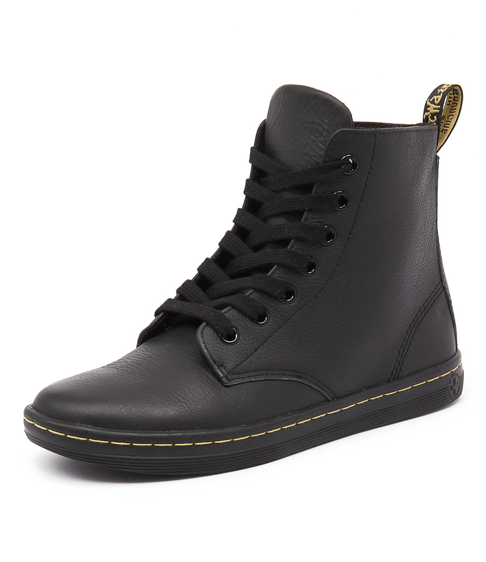 Dr. Martens Leyton Boot Black Boots