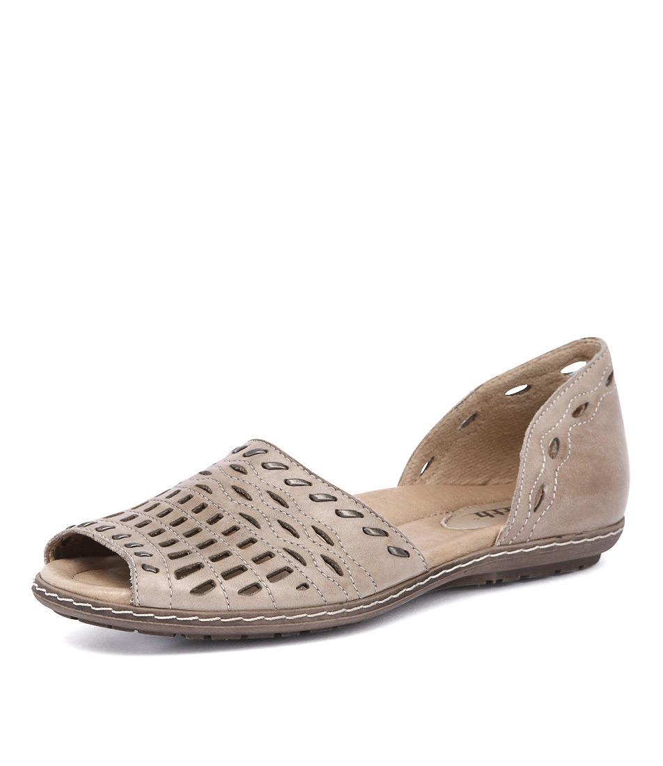 Earth Shore Pecan Sandals