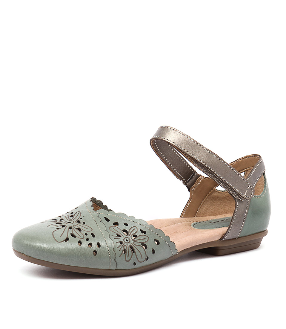 Earth Belltower Teal Shoes