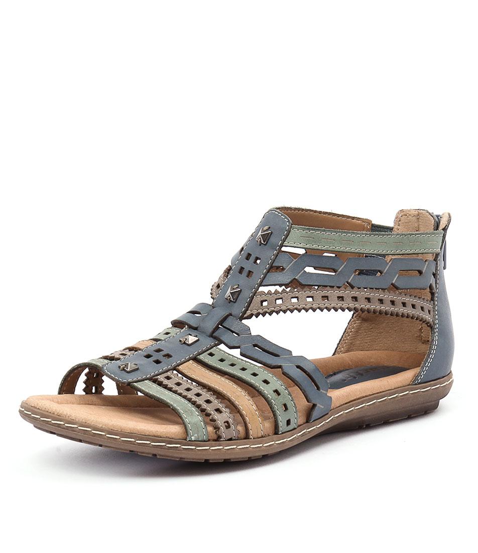 Earth Bay Blue Sandals