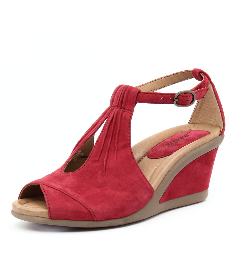 Earth Caper Red Sandals online
