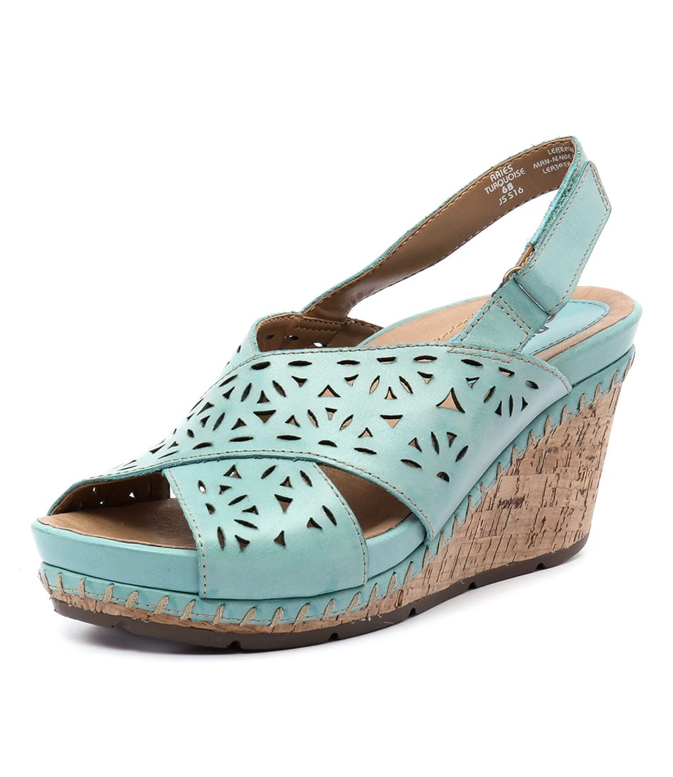 Earth Aries Turquoise Sandals online