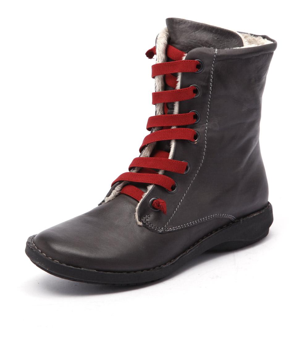 Effegie Sukida Dark Grey Boots
