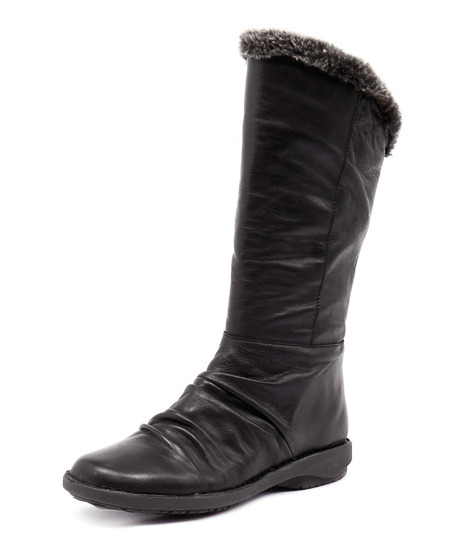 Effegie Sukonia Black Boots