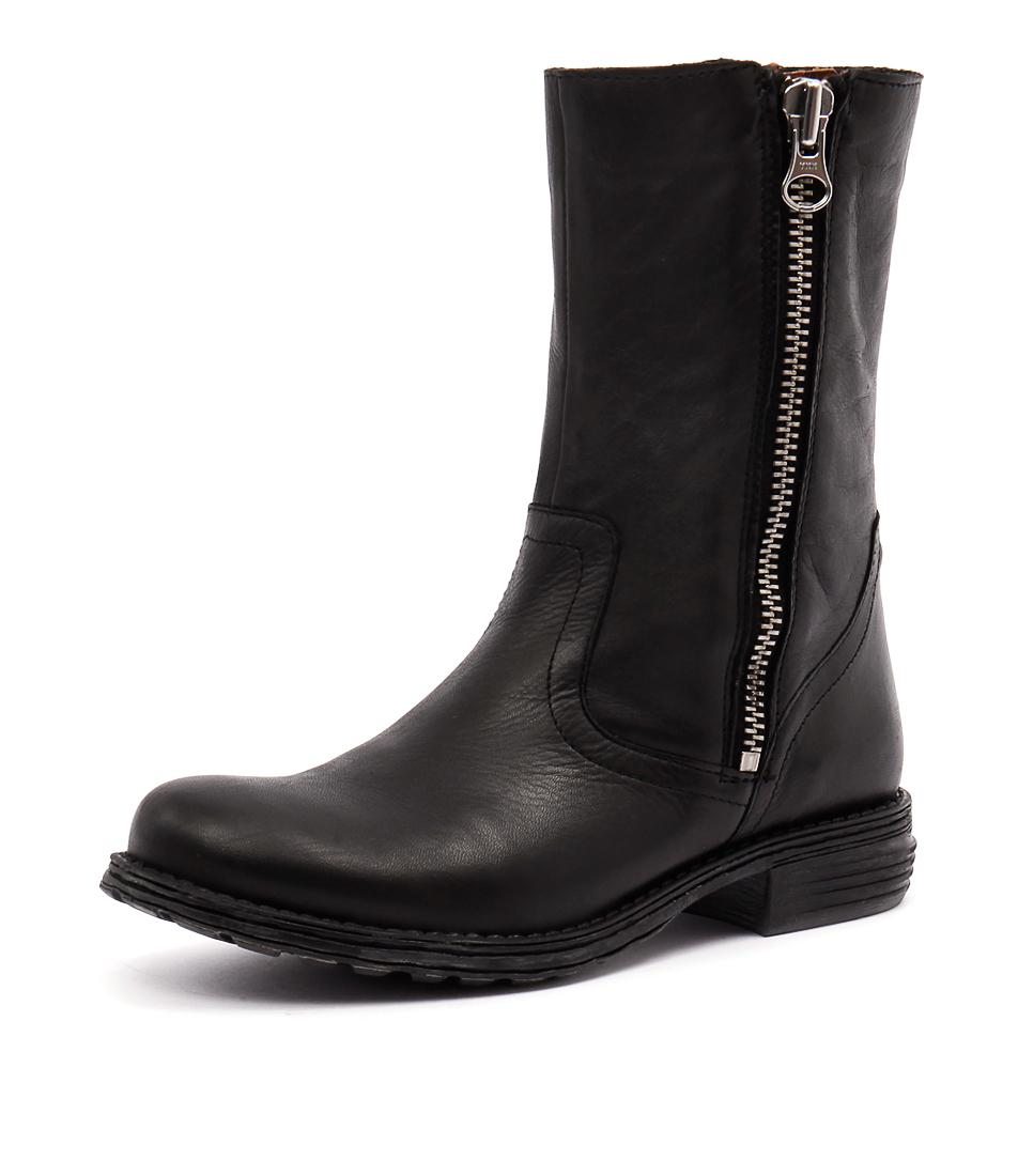 EOS Zilaro Black Vintage Boots