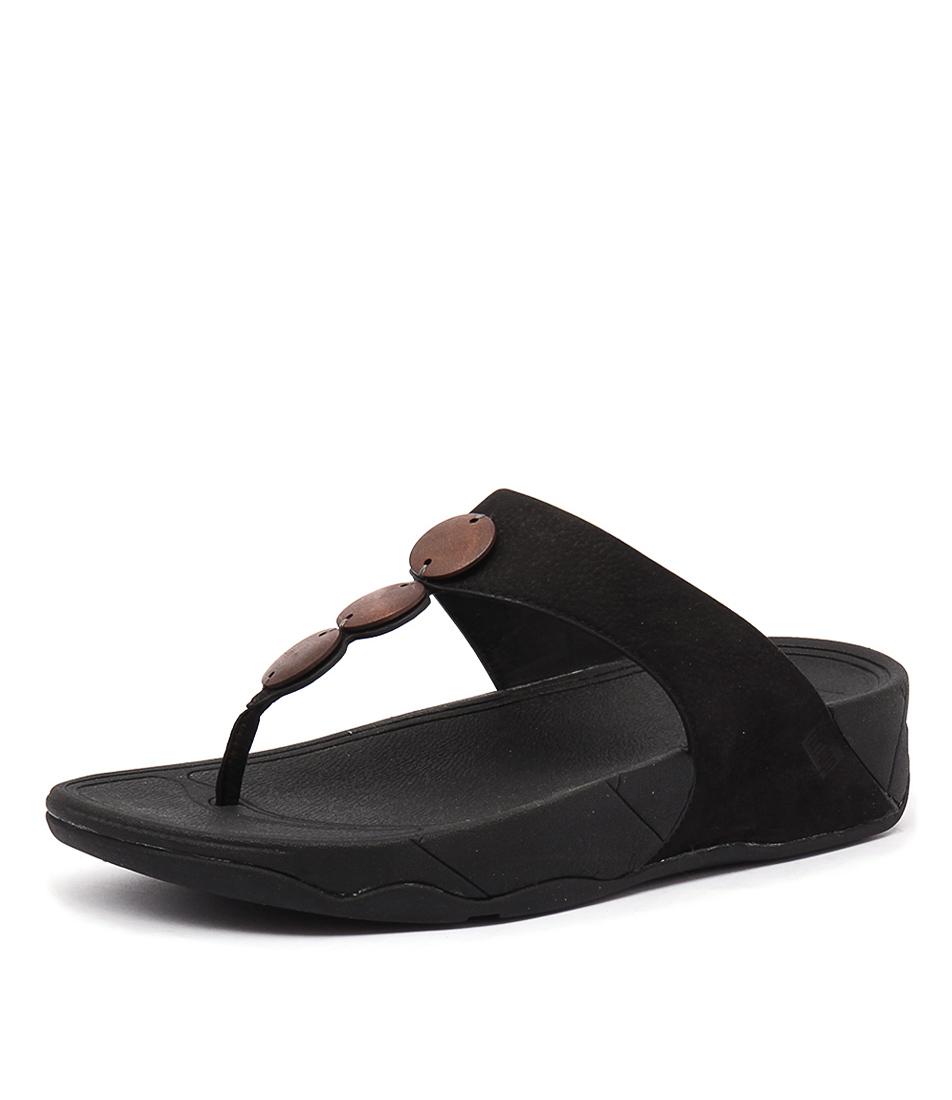 FitFlop Petra Black Sandals