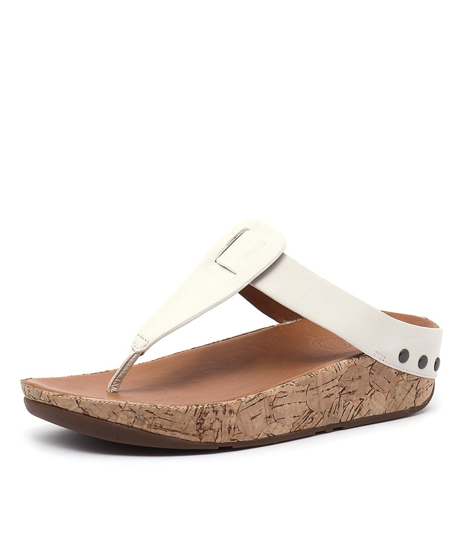 FitFlop Ibiza Cork Urban White Sandals online