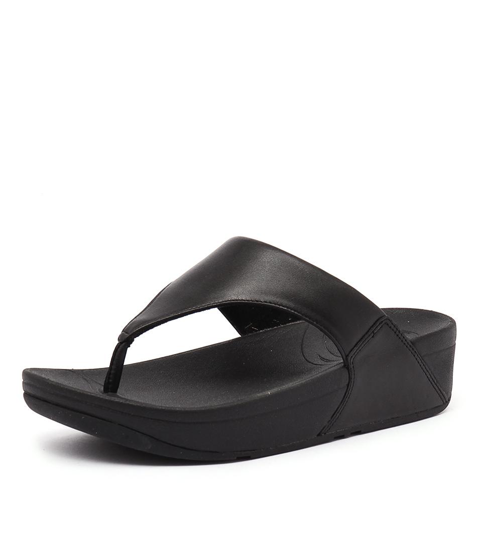 FitFlop Lulu Black Sandals