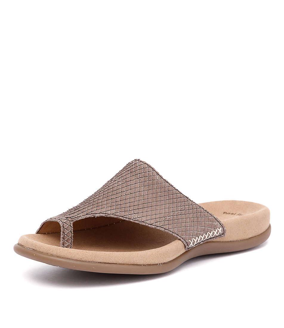 Gabor Lyric Coffee Sandals