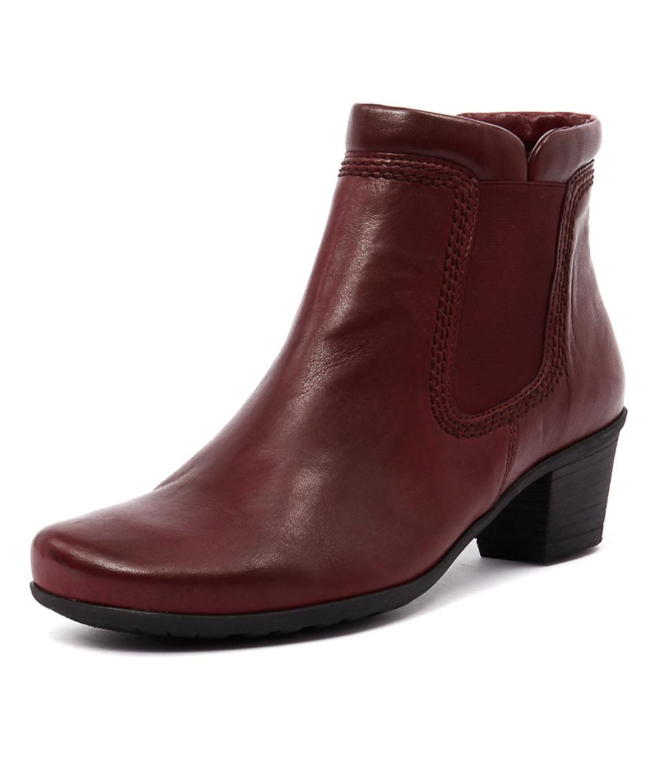 Gabor Megan Dark Red Boots