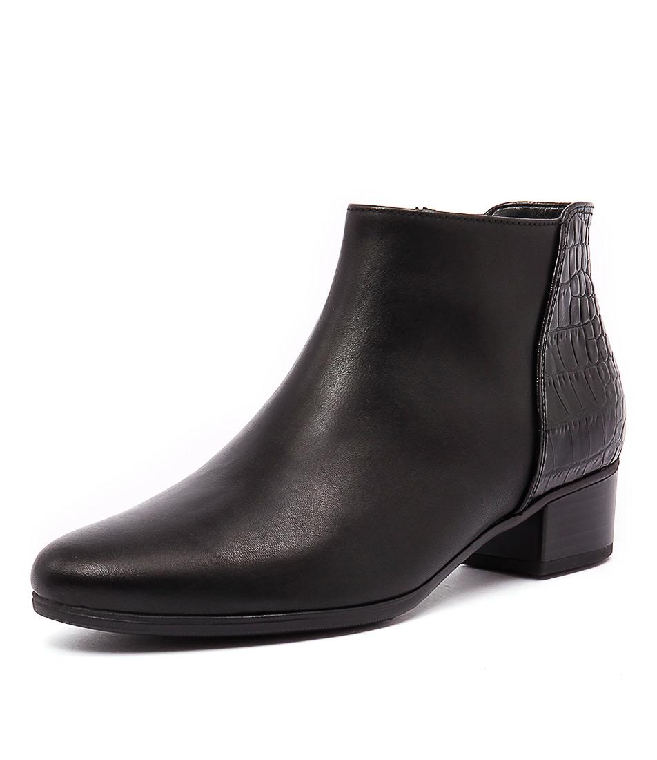 Gabor Merle Schwarz Boots