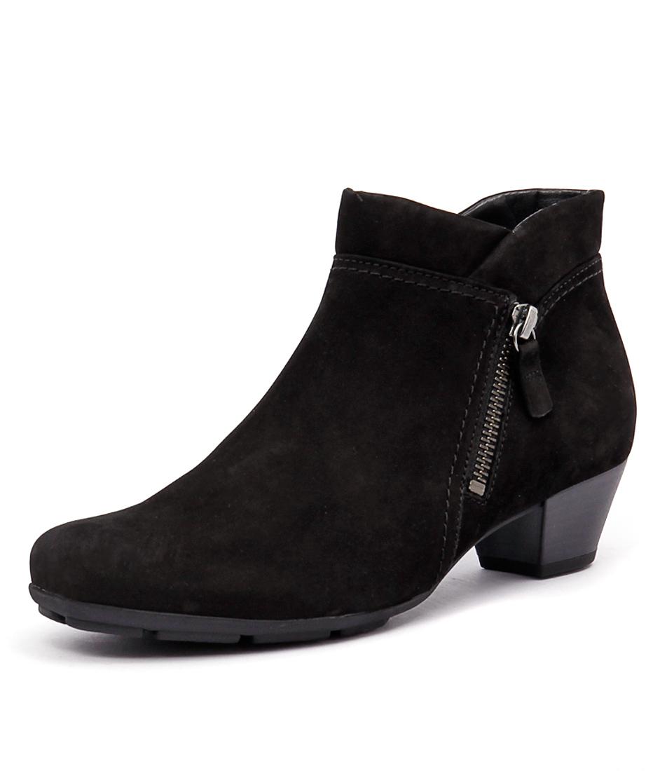Gabor Ondine Schwarz Boots