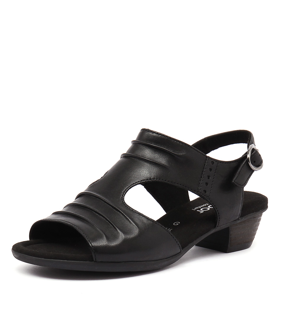 Gabor Lotte Schwarz Sandals