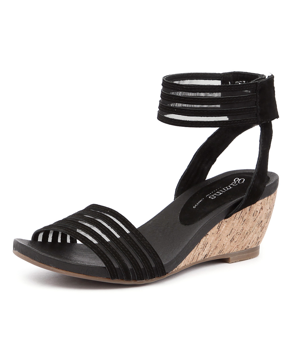 Gamins Aleeza Black Sandals