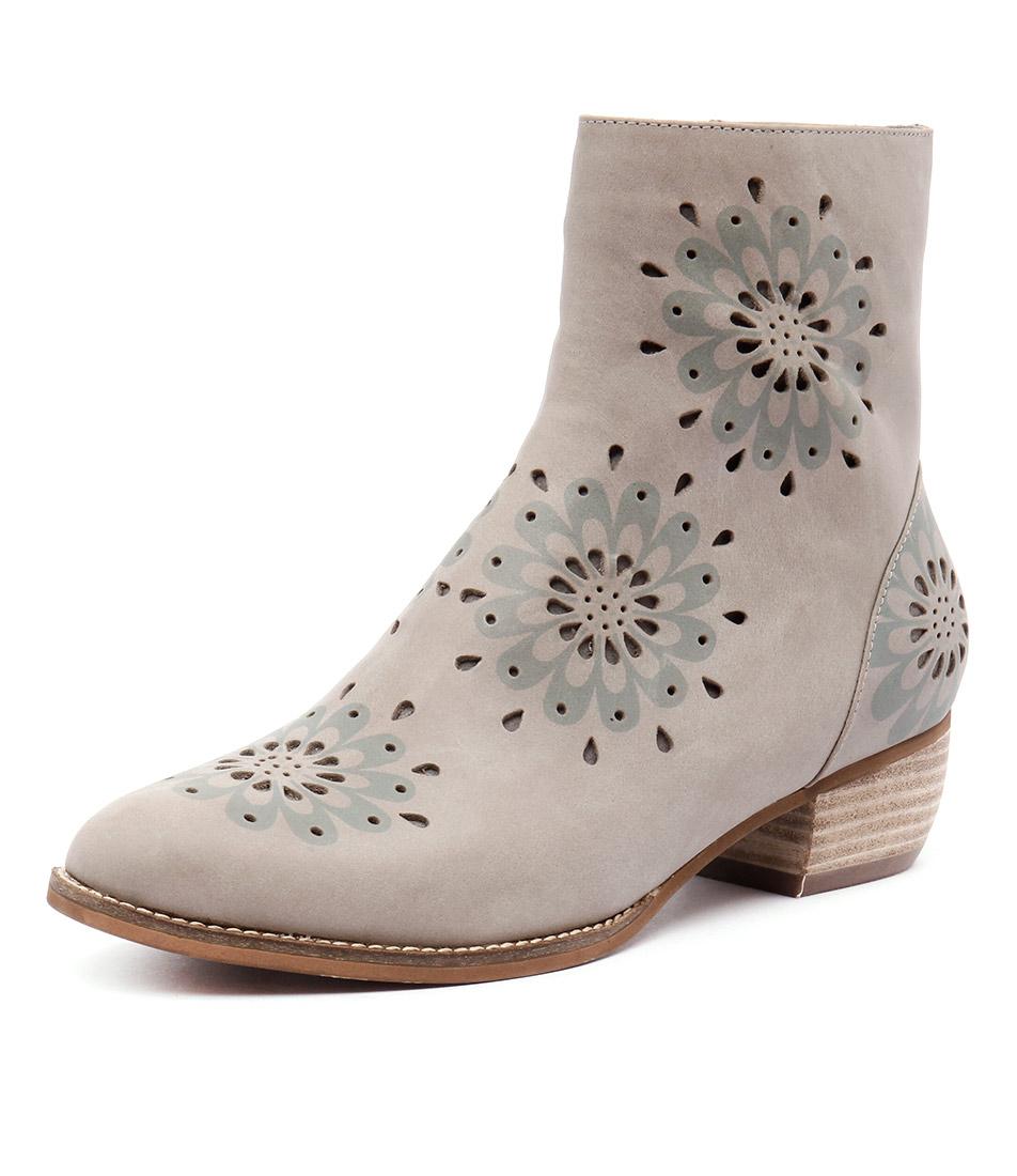 Gamins Jenny Grey Laser Boots