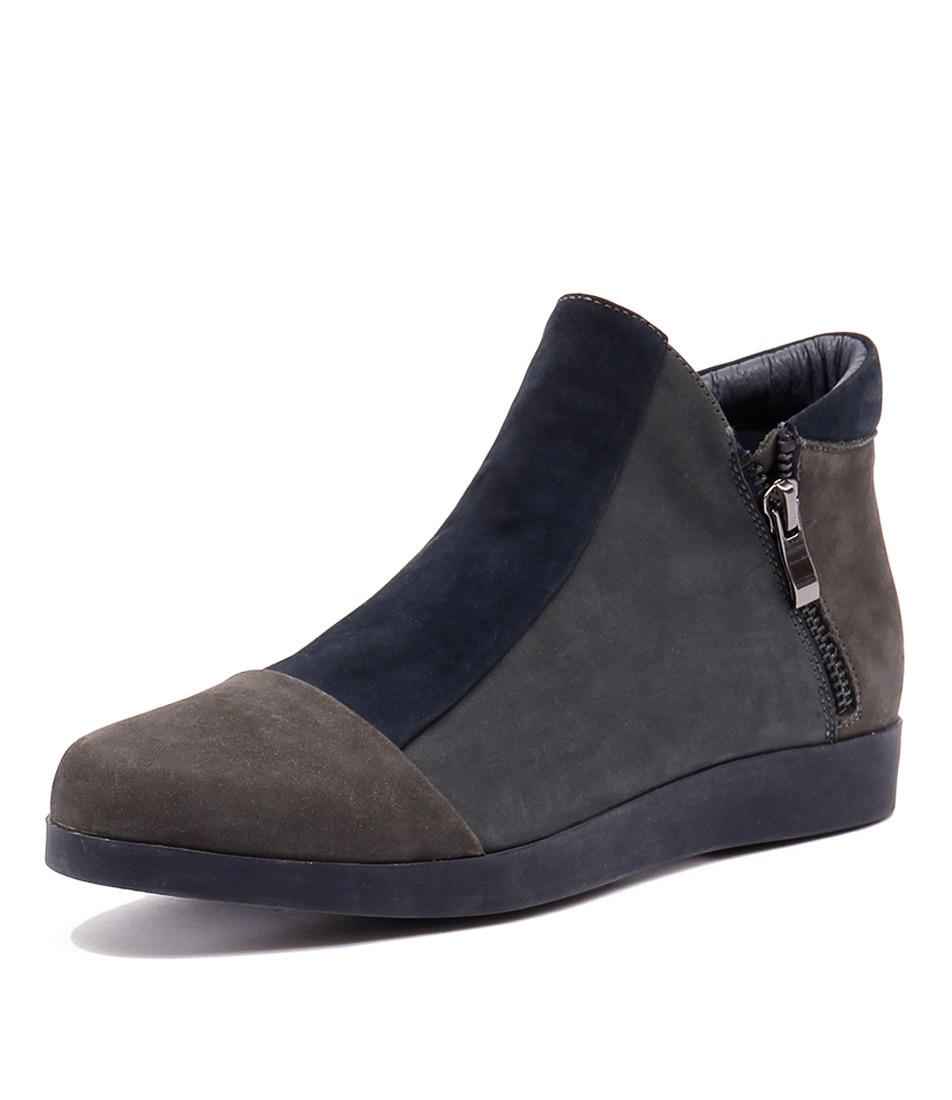 Gamins Renew Dark Grey-Navy-Steel Boots online