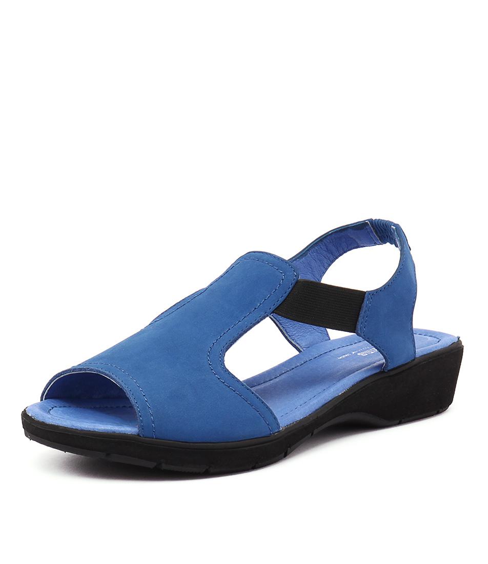 Gamins Kapok Cobalt Nubuck Sandals