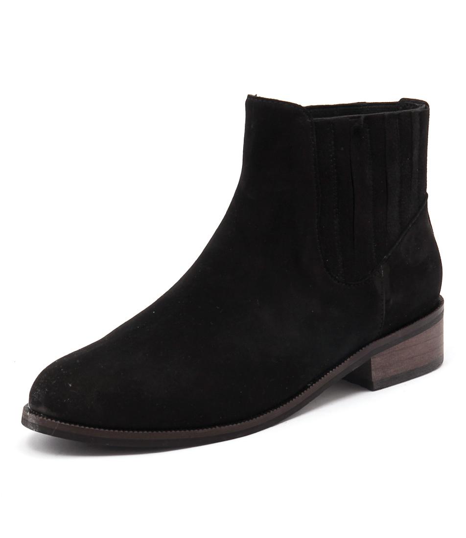 Gamins Laska Black Boots