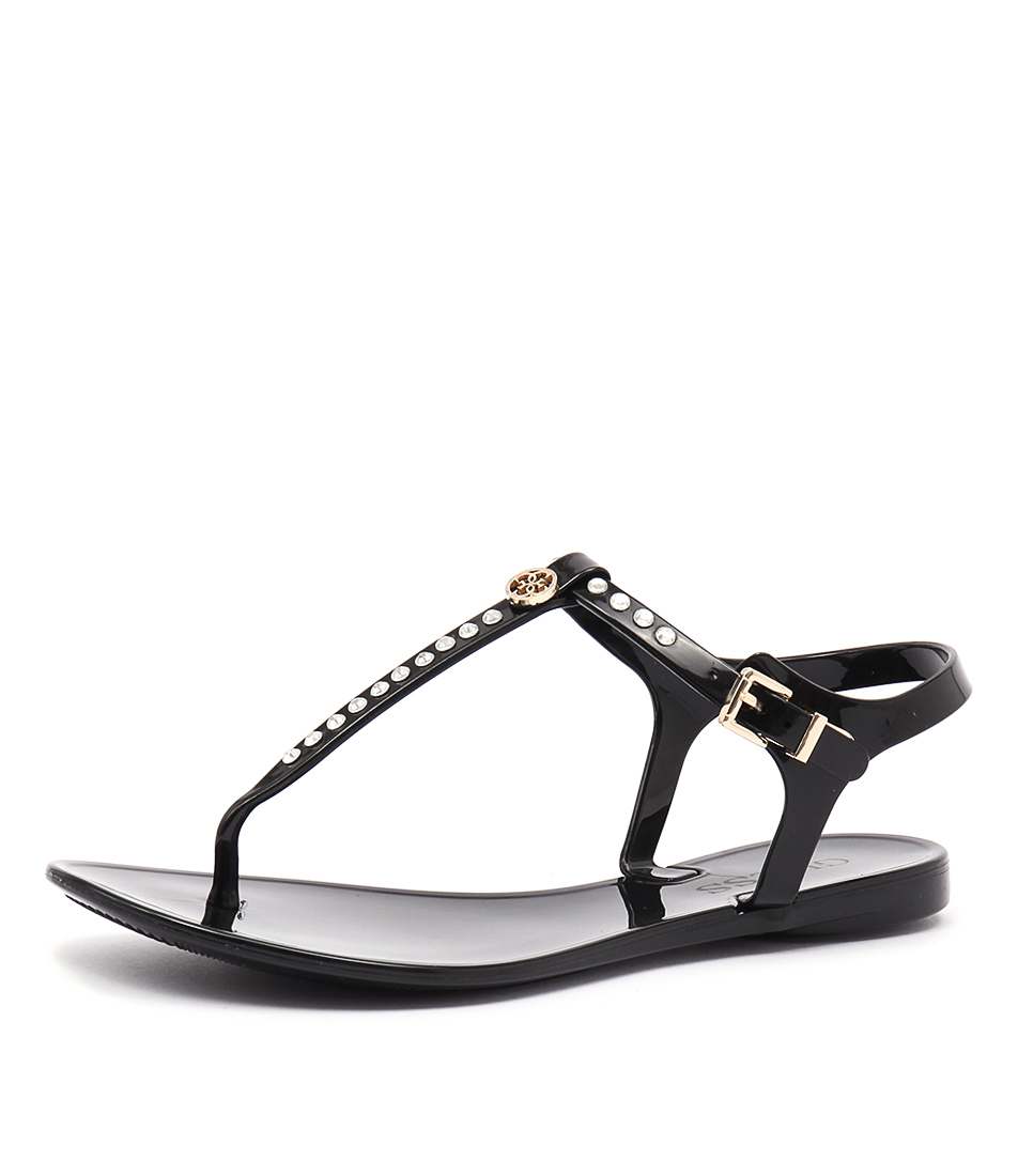 Guess Jasera Black Sandals