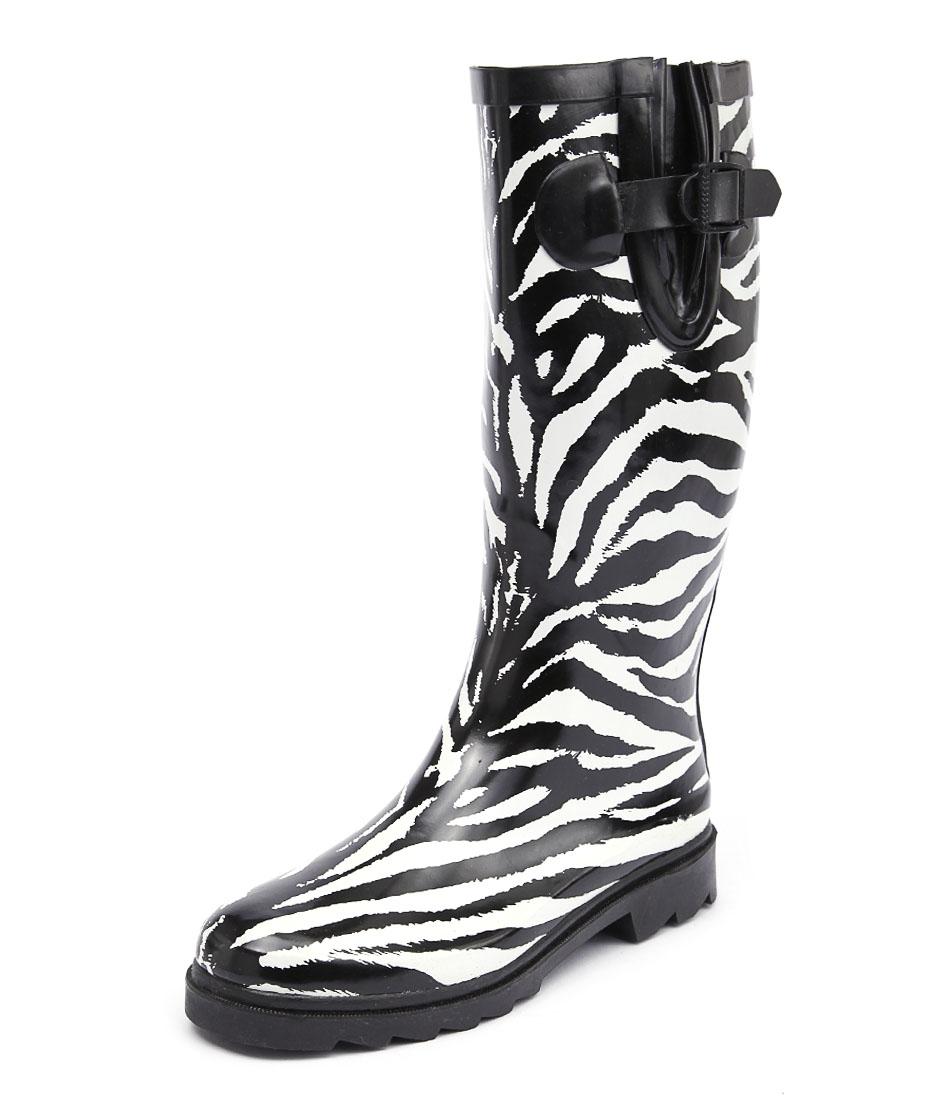 Gumboots Zebra Boots