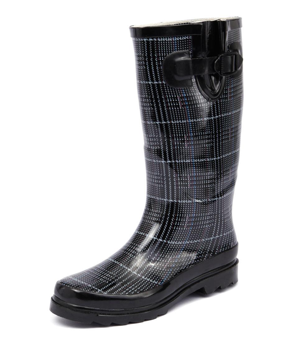 Gumboots Grey Tweed Boots