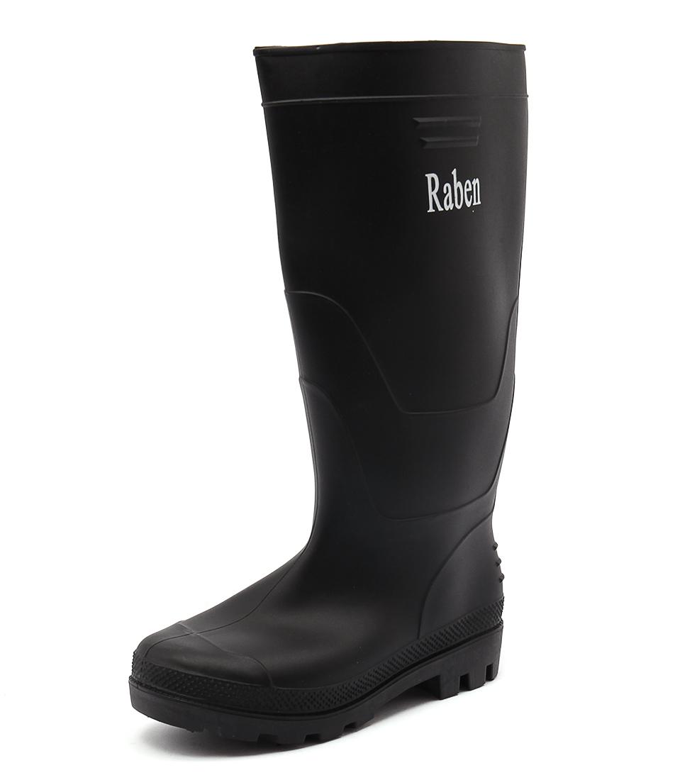 Gumboots PVC Black Long Boots