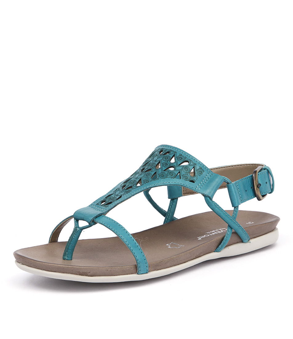 Gino Ventori Move Turquoise Sandals