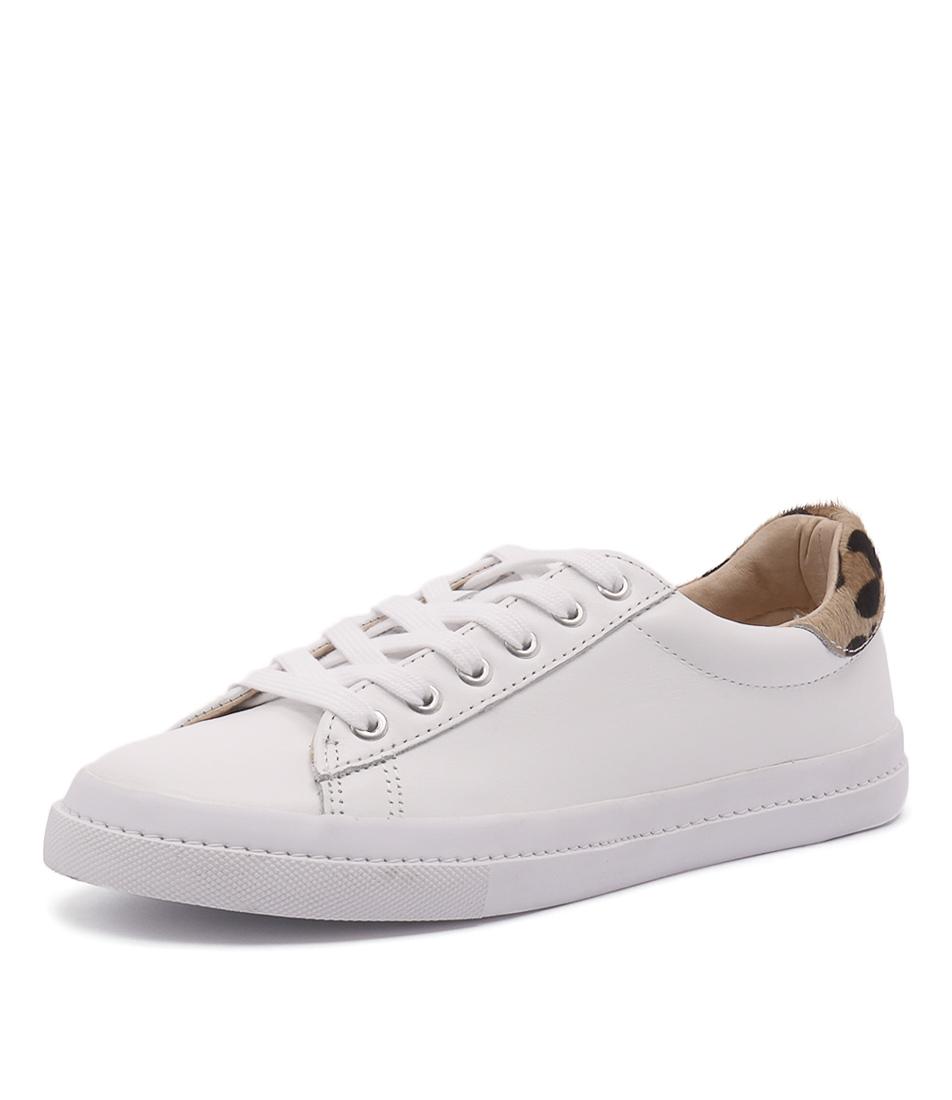 Human Premium Mishka White-Ocelot Sneakers