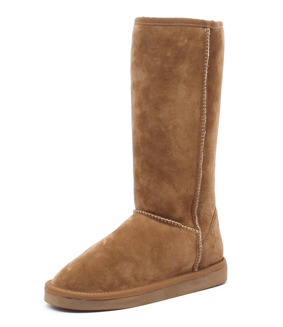 Hush Puppies Dusty Light Tan Ugg Boot Boots