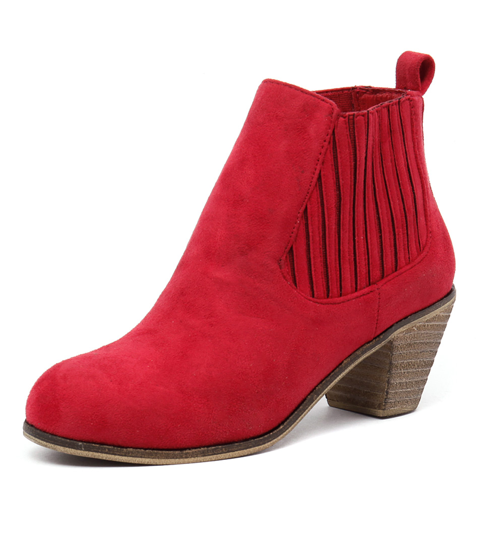 I Love Billy Riptide Red Boots