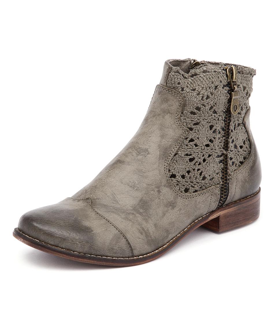 I Love Billy Flutter Sage Boots