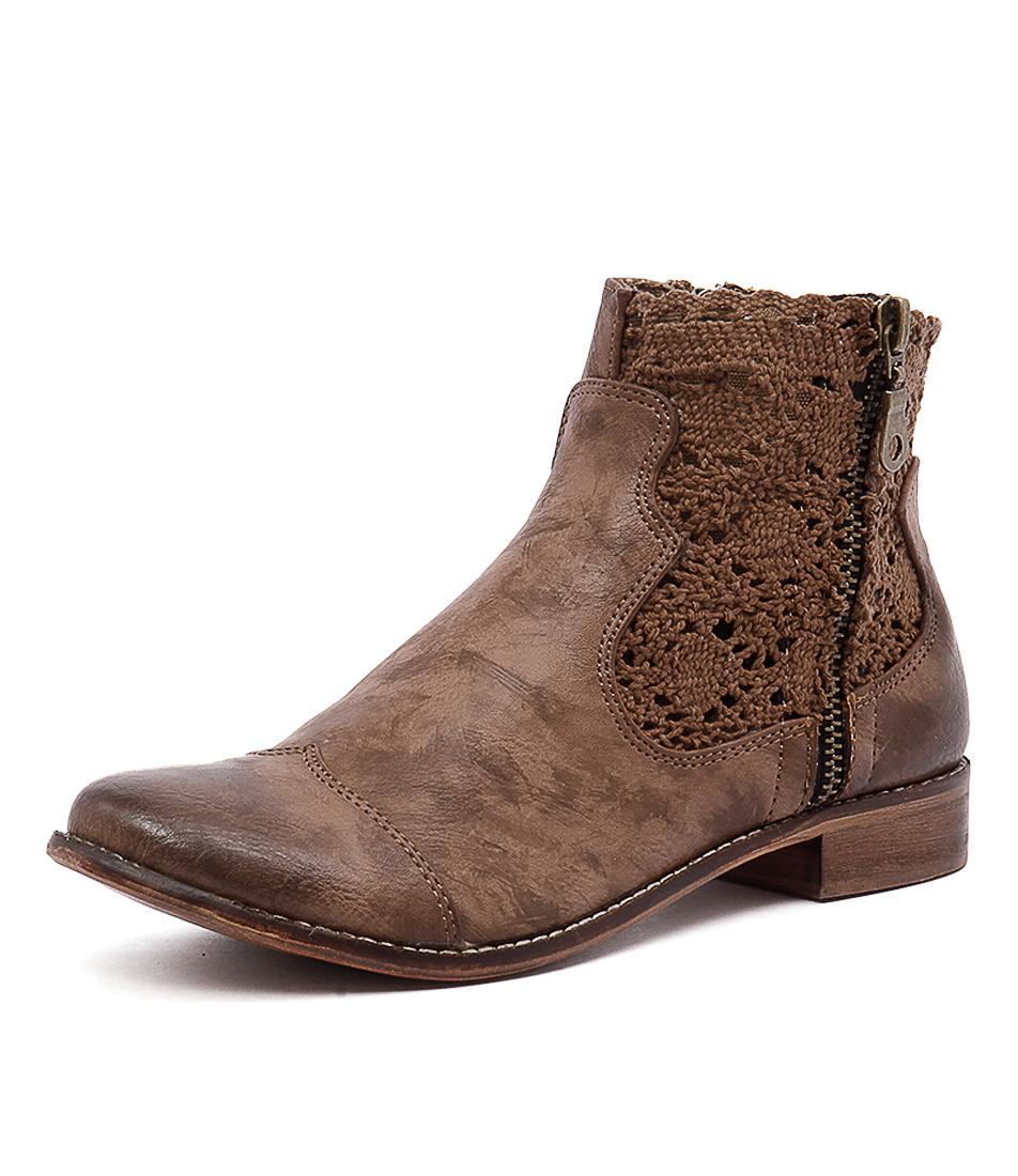 I Love Billy Flutter Light Mocca Smooth Boots