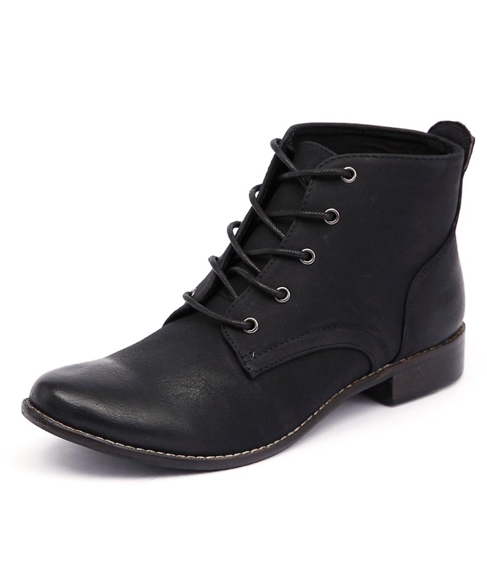 I Love Billy Fufu Black Boots