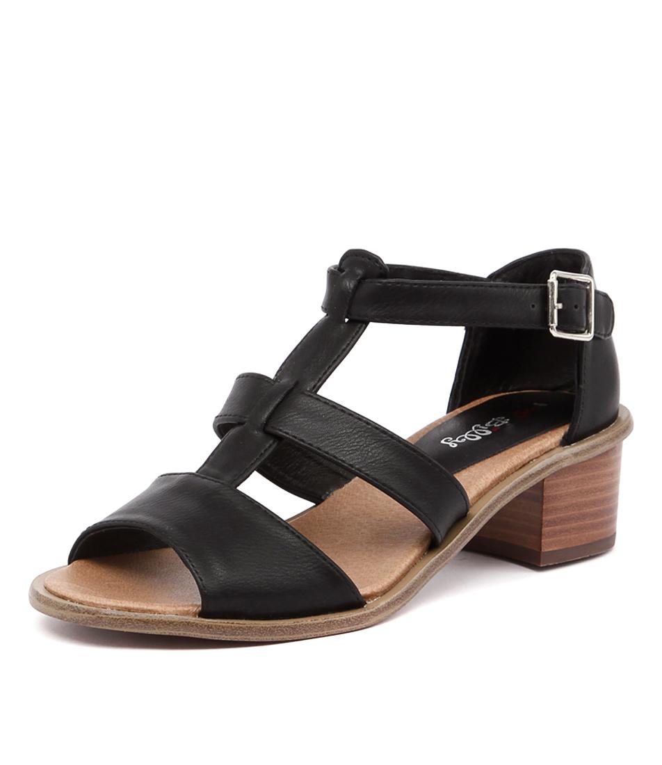 I Love Billy Habit Black Sandals