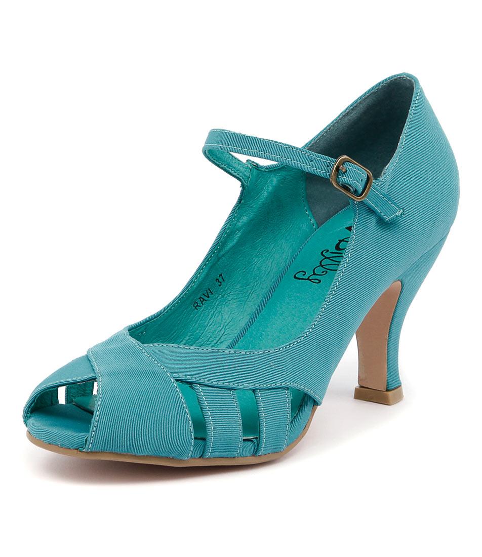 I Love Billy Ravi Aqua Shoes