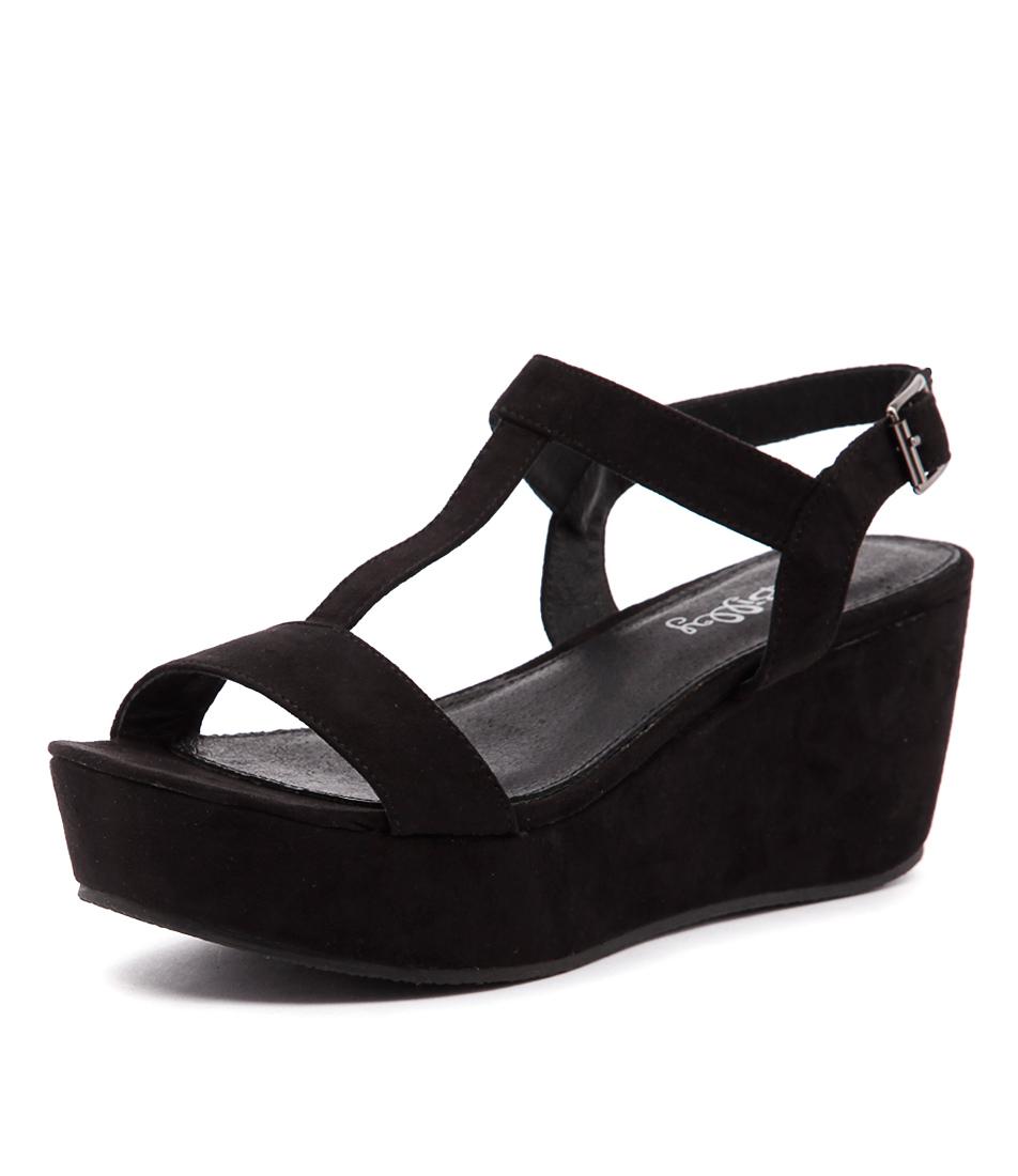 I Love Billy Grace Black Sandals online