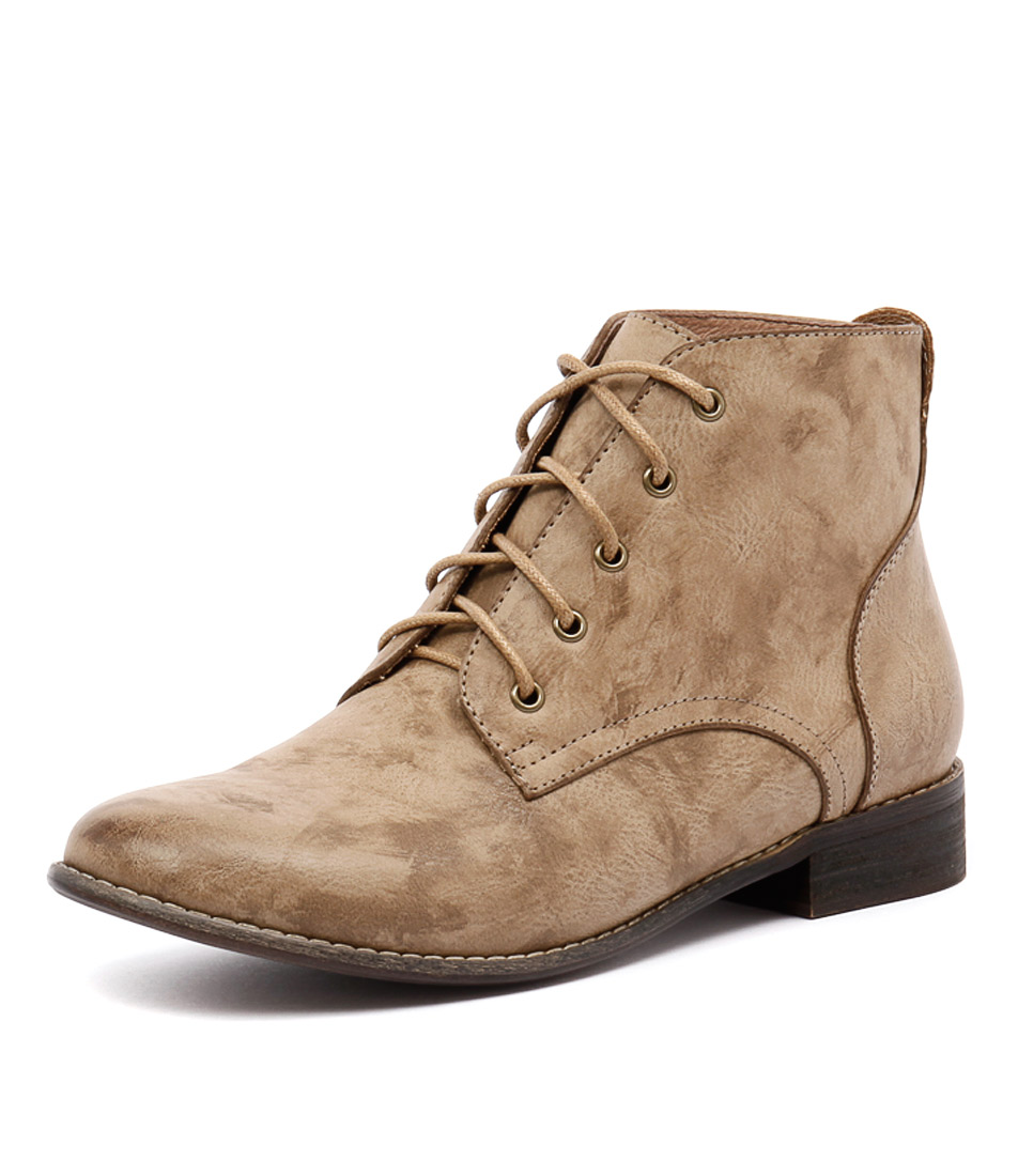 I Love Billy Fufu Sand Smooth Boots