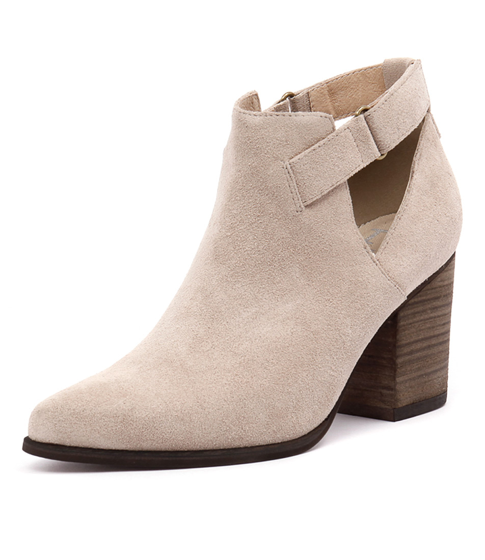 I Love Billy Kira Stone Suede Boots