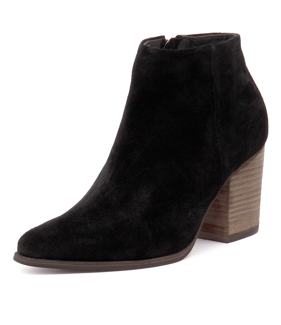 I Love Billy Kimra Black Suede Boots