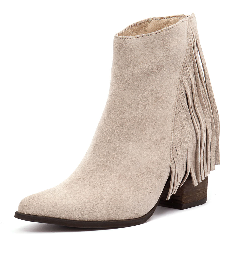 I Love Billy Kady Stone Suede Boots